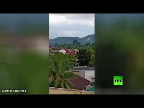مقتل 7 أشخاص وإصابة 2 في تحطم طائرة صغيرة بمقاطعة لاجونا الفلبينية