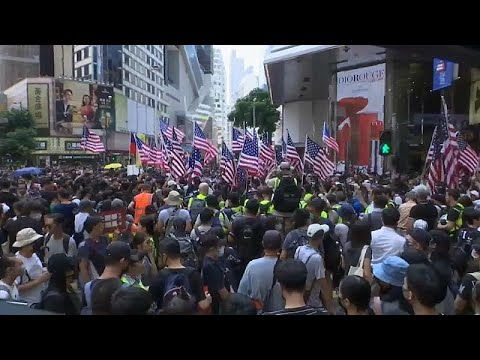 مواجهات مع الشرطة في احتجاجات هونغ كونغ