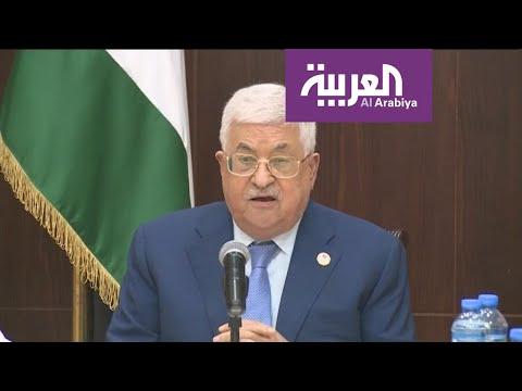 محمود عباس يدعو المنتخب السعودي إلى اللعب على أرض فلسطين