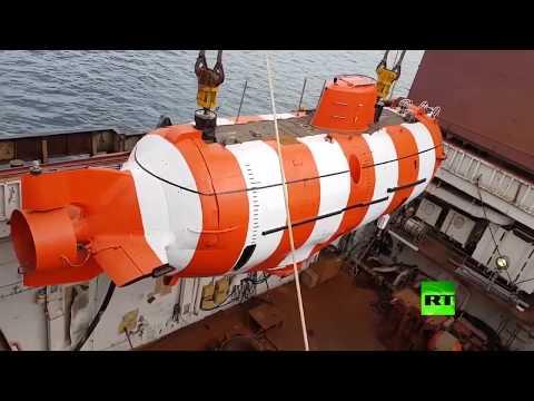 إجلاء طاقم غواصة مستغيثة من قاع المحيط الهادئ في روسيا
