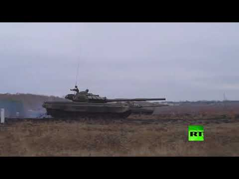 الدبابات تطلق النار في مقاطعة سفيردلوفسك الروسية