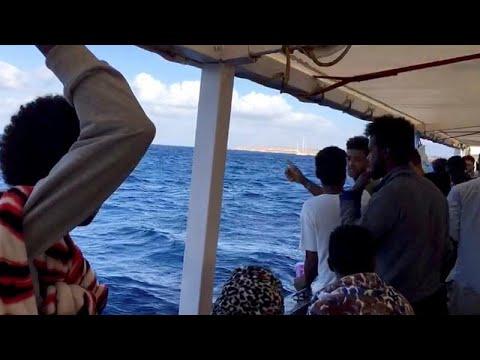شاهد 6 دول أوروبية توافق على استضافة مهاجرين عالقين على سفينة الإنقاذ أوبن أرمز