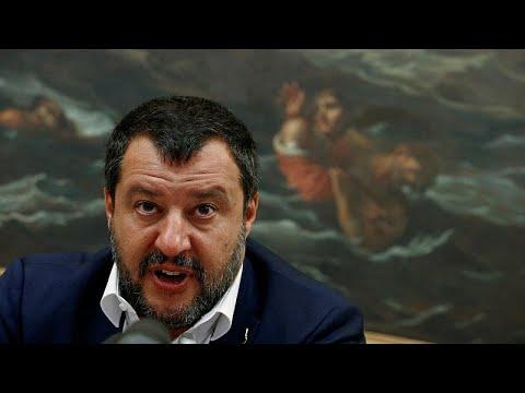 شاهد إيطاليا تدخل في أزمة سياسية بعد إعلان سالفيني انهيار الائتلاف الحكومي