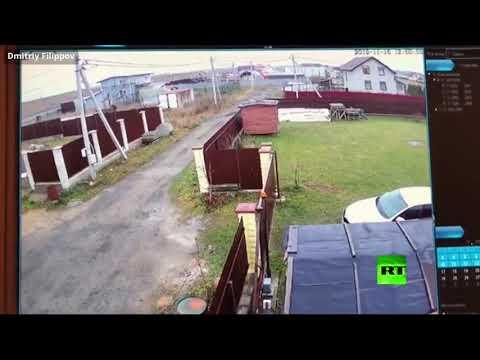 هبوط اضطراري لطائرة خاصة وارتطامها بسياج منزل في روسيا