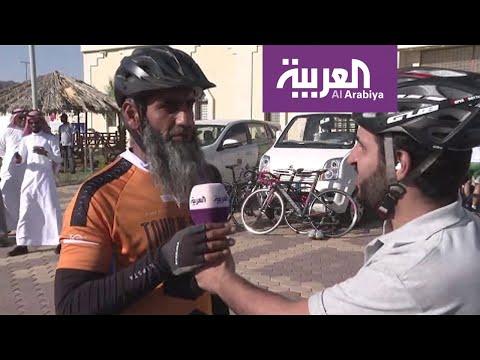 شاهد وصول 8 دراجين بريطانيين إلى المدينة المنورة بعد رحلة شملت 3 قارات