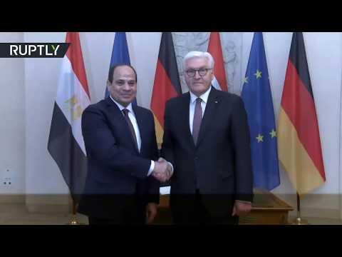 الرئيس عبد الفتاح السيسي يلتقي رئيس ألمانيا في برلين