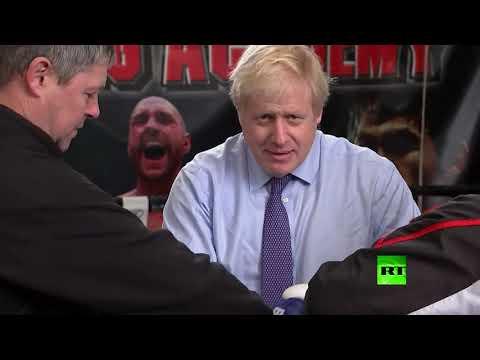 جونسون من حلبة السياسة إلى حلبة الملاكمة
