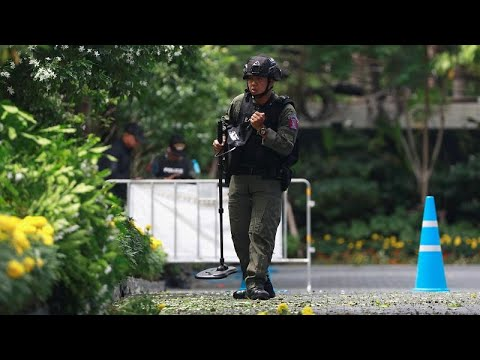 شاهد انفجارات بالجملة في بانكوك بالتزامن مع اجتماعًا أمنيًا لدول جنوب شرق آسيا