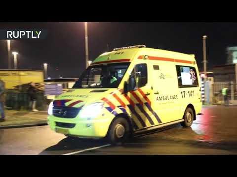 العثور على 26 مهاجرًا في حاوية تبريد في هولندا