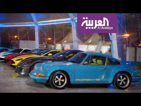 سعودي يشارك بسيارات من تصميمة في معرض الرياض