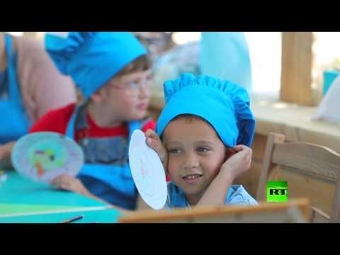 شاهد مهرجان تصميم الحدائق البيئي في موسكو