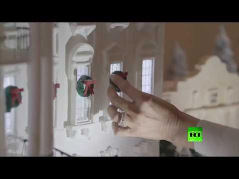 ميلانيا ترامب ترفع النقاب عن زينة عيد الميلاد في البيت الأبيض