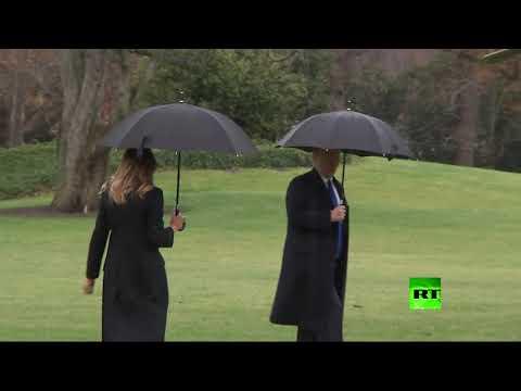 ترامب ينسى ميلانيا ويضعها في موقف محرج