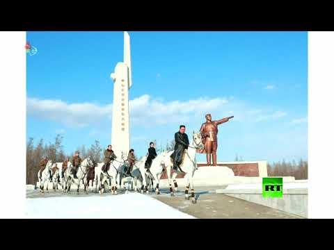 شاهد زعيم كوريا الشمالية يركب حصانًا أبيض مجددًا