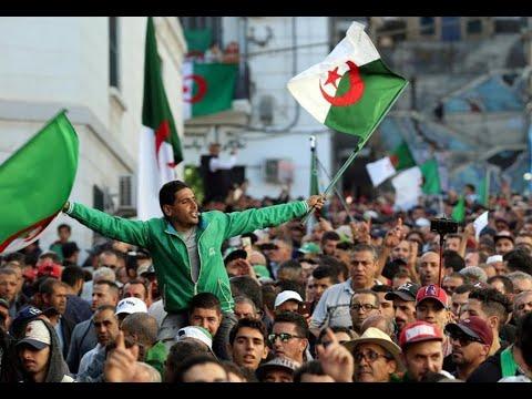 شاهد مظاهرات الجمعة الأخيرة قبل الانتخابات الرئاسية في الجزائر