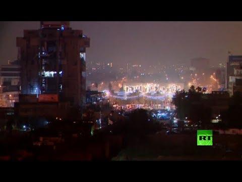 مباشر من ساحة التحرير وسط العاصمة العراقية بغداد