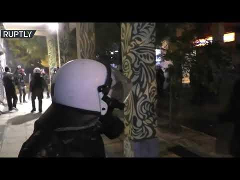 احتجاجات في اليونان في ذكرى مقتل فتى على يد شرطي