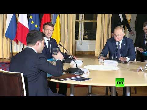 أول ما قاله الرئيس فلاديمير بوتين لنظيره الأوكراني