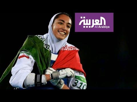 بطلة أولمبية إيرانية تهرب من القمع بالهجرة