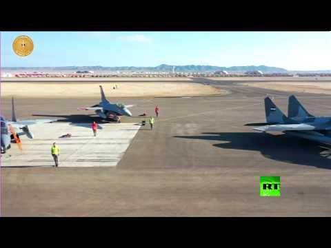 فيديو جديد لافتتاح أكبر قاعدة عسكرية في البحر الأحمر