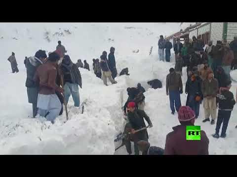 قتلى جراء انهيارات ثلجية في باكستان