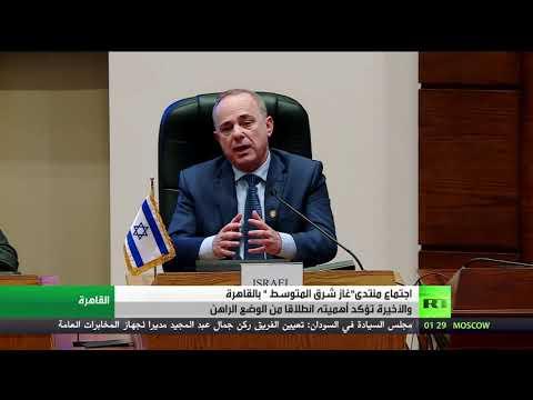 اجتماع وزراء الطاقة في منتدى غاز شرق المتوسط في القاهرة