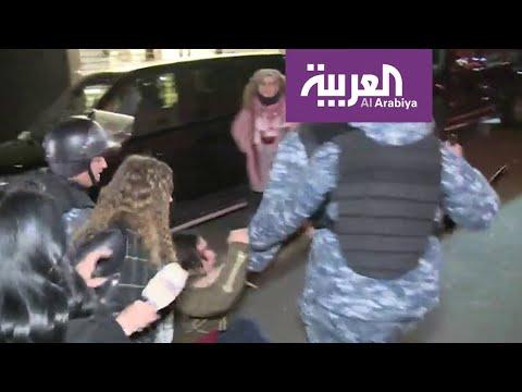 اعتقال الأمن اللبناني لمتظاهرين غرب بيروت