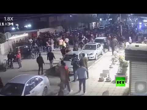 شاهد حادث دهس جماعي في المنوفية في مصر يصيب 4 أشخاص