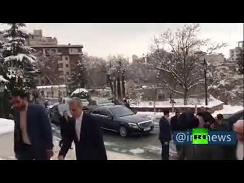 شاهد وزير الخارجية العماني يزور طهران للمرة الثانية خلال أسبوعين