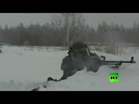 القوات الخاصة الروسية تداهم مصنع متفجرات افتراضي