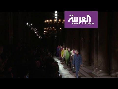 شاهد عرض أزياء بيرلوتي الرجالي لخريف وشتاء 2020  2021