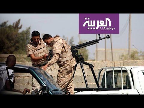 شاهد بصمات المرتزقة على جدران طرابلس الليبية