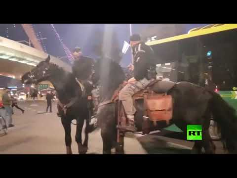 الشرطة تتعامل مع مسيرة المتدينين اليهود