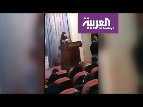 شاهد ابنة قاسم سليماني تزور حزب الله في بيروت