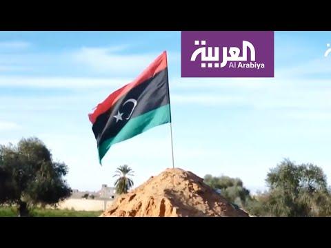 شاهد تجدد الاشتباكات بين الجيش الليبي والوفاق جنوب طرابلس