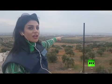 شاهد الجيش السوري يسيطر على مدينة معرة النعمان