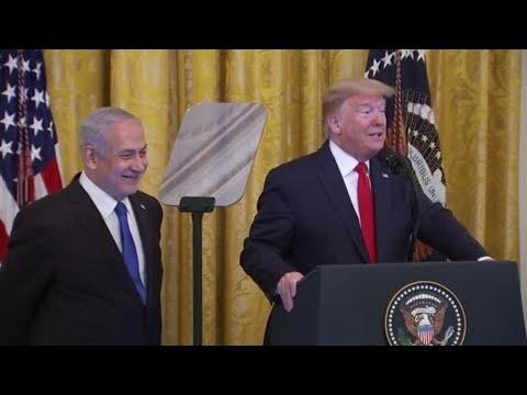 شاهد خطة ترامب للسلام تقرّ بالقدس عاصمة موحدة لإسرائيل