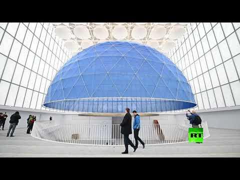 شاهد افتتاح أول مسجد في سلوفينيا بمساعدة قطرية