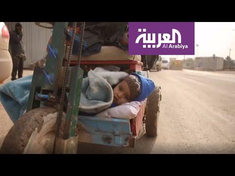 الأحوال المناخية تضاعف الوضع الإنساني المتدهور لنازحي إدلب