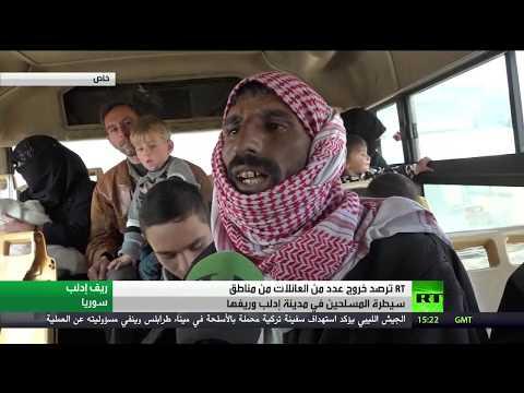 فتح ممرين إنسانيين لخروج المدنيين في ريفي حلب وإدلب
