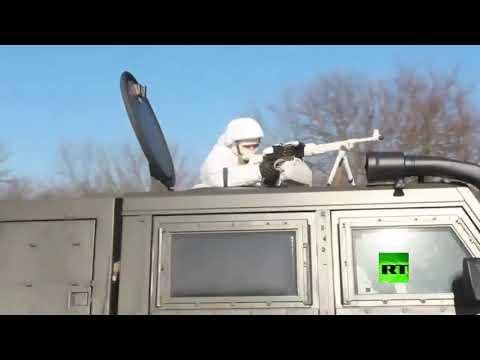 تدريبات القناصة في الجيش الروسي تحضيرًا لمسابقة الألعاب العسكرية الدولية 2020