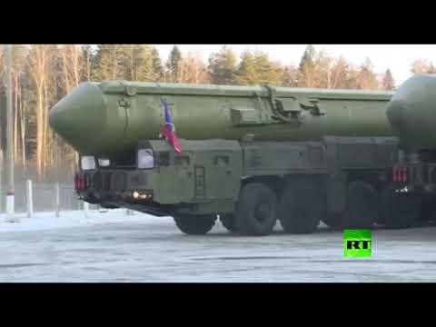 شاهد قافلة من منظومة صواريخ يارس تتجه إلى موسكو