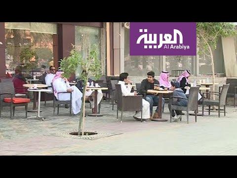 شاهد المحلات التجارية مغلقة والتجمعات ممنوعة في السعودية