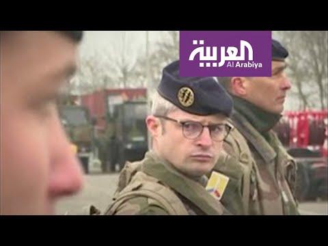شاهد الجيش الفرنسي يتدخل ضد كورونا الذي عجزت الحكومة عن مواجهته
