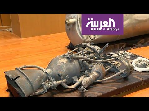 شاهد شاهد الصاروخ الحوثي الذي اعترضته الدفاعات السعودية فوق الرياض