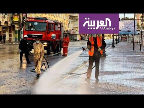 شاهد هروب الطاقم الطبي في ليبيا فور وصول أحد المصابين بـكورونا