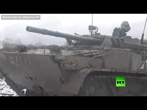 شاهد تدريبات عسكرية للجيش الروسي على مواجهة الدرونات في أوسيتيا