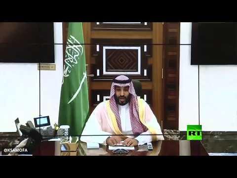 شاهد ولي العهد السعودي يجتمع مع قادة المؤسسة العسكرية