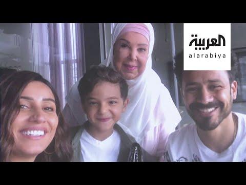 شاهد أول تصريح للفنانة رجاء الجداوي من مستشفى العزل