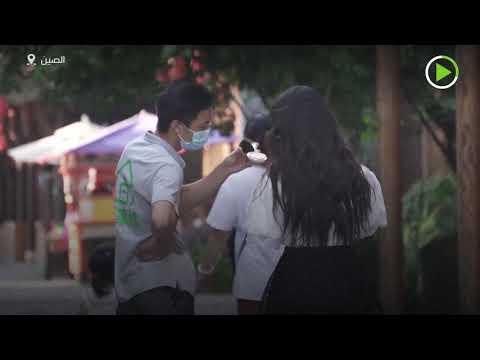 شاهد السياح يبدأون زيارة ووهان الصينية بؤورة وباء كورونا